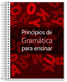 Banner Princípios de Gramática para Ensinar