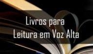 Banner Livros Indicados par Leitura em Voz Alta