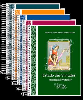 Montagem do pacote do Estudo das Virtudes