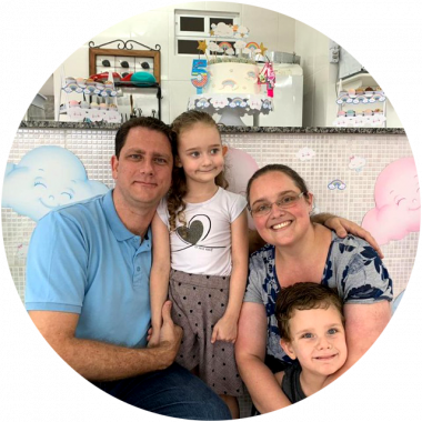 Rita Navarro e Família